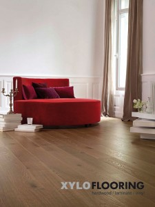 Commercial Flooring by Xylo – Wide plank oak strip